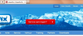 Service aanvragen via de website